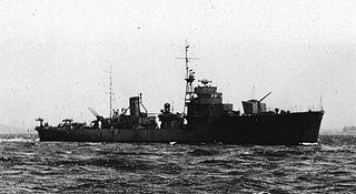 Japanese escort ship <i>Kurahashi</i> Mikura-class escort ship of the Imperial Japanese Navy
