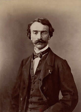 Jean-Léon Gérôme - Undated photo of Gérôme by  Nadar, published in 1900