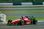 Jean Alesi - Ferrari 412T1B at the 1994 British Grand Prix (32541414105).jpg