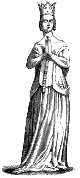 Fil:Jeanne de bourbon engraving from statue.png