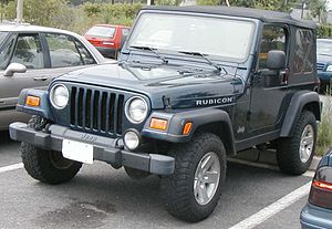 2003-2006 Jeep Wrangler Rubicon photographed i...