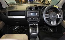 Jeep Compass Sport (Australia; Facelift). Interior
