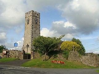 Jeffreyston Human settlement in Wales