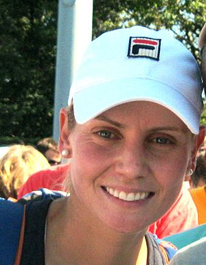 Jelena Dokic - Dokic at the 2011 US Open