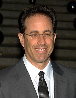 Jerry Seinfeld at Tribeca Film Festival 2010.