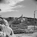 Jeruzalem. De berg Zion met de Dormition abdijkerk en de kerk op de plaats van h, Bestanddeelnr 255-1614.jpg