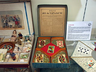 Jeux de hocs family of French card games