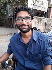 Jignesh Mevani Social activist.jpg