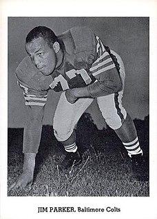 Jim Parker (American football) American football player