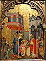 Joachim and the Beggars by Andrea di Bartolo, c. 1400, tempera on panel - National Gallery of Art, Washington - DSC00167.JPG