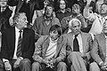 Johan Cruijff en voetbalmakelaar Cor Coster (r) op de tribune, Bestanddeelnr 930-4443.jpg