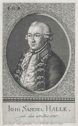 Johann Samuel Halle