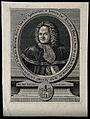 Johann Jakob Baier. Engraving by M. Rösler, 1728. Wellcome V0000297.jpg