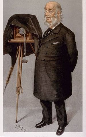 John Benjamin Stone - John Benjamin Stone, portrait by Leslie Ward, 1902