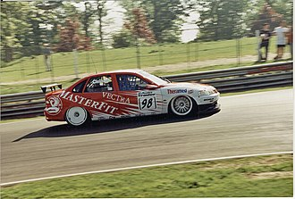 Triple Eight Racing - John Cleland driving a Triple 8 prepared Vectra at Brands Hatch