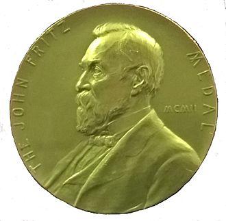 John Fritz - John Fritz Gold Medal 1921