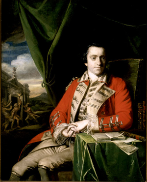 Bernard Hale - Chief Baron Hale's youngest son John Hale, Governor of Londonderry, painted by Joshua Reynolds