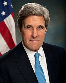 Portrait officiel de John F. Kerry, 2013.