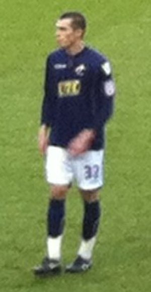 John Marquis - Marquis playing for Millwall in 2011