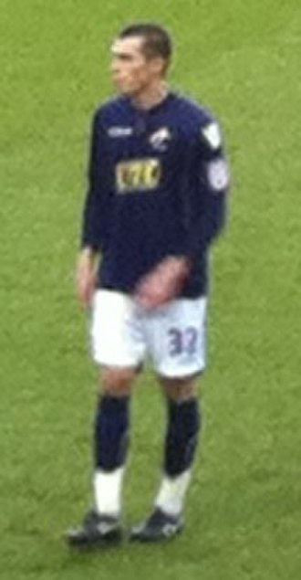 John Marquis - Marquis playing for Millwall in 2011.