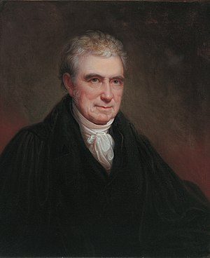 Presidency of John Adams - John Marshall, fourth Chief Justice of the Supreme Court, 1801 – 1835