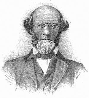 John Beach - John Beach, from A.R. Fulton's Red Men of Iowa 1882.