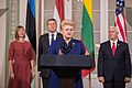 Joint Press Conference by the Baltic presidents and the Vice President of United States (36282562135).jpg