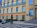 Jonasz Kofta przy schodach Uniwersytetu Opolskiego - panoramio.jpg