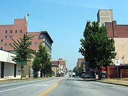 Skyline of City of Joplin, Missouri