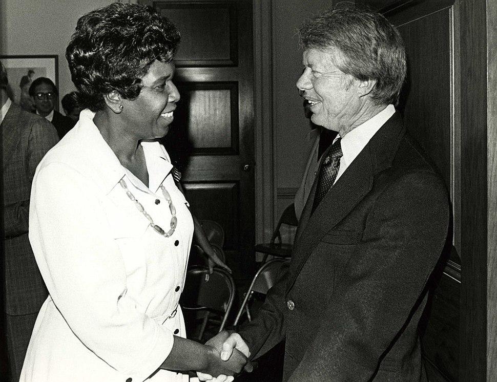 Jordan and Carter ca. 1977 w ccwatermark