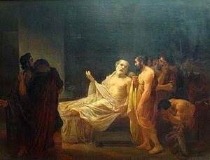José Maria de Medeiros - A morte de Sócrates, 1878