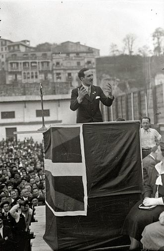 José Antonio Aguirre (politician) - José Antonio Aguirre Lecube, 1933