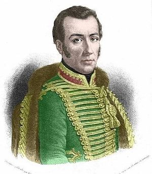 Bernardo O'Higgins - José Miguel Carrera, with whom O'Higgins had an ongoing feud