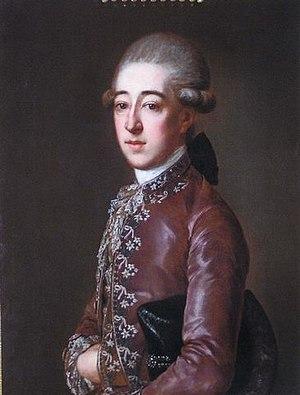 Joseph, 4th Prince Kinsky of Wchinitz and Tettau - Image: Joseph, 4.Fürst Kinsky von Wchinitz und Tettau