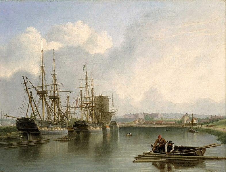 File:Joseph Walter - Shipping off Bristol.jpg