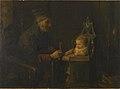 Jozef Israëls - Old Man and Baby - Walters 37658.jpg