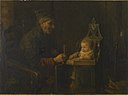 Jozef Israëls - Old Man and Baby - Walters 37658.jpg