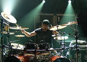 Jukka Nevalainen - Image: Jukka Nevalainen drums