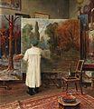Julius von Klever in seinem Atelier 1909.jpg