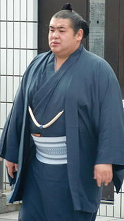 Jūmonji Tomokazu Sumo wrestler