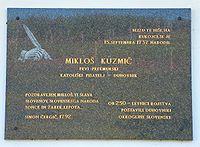 Küzmics Miklós emléktáblája.jpg