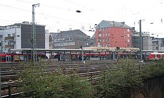 Köln Hansaring station - Köln Hansaring S-Bahn station