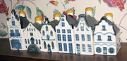 Selection of KLM Delft Blue Houses