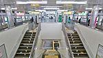 KNT Sannomiya station platform.jpg