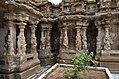 Kailasanatha Temple, dedicated to Shiva, Pallavve period, early 7th century, Kanchipuram (13) (37410421686).jpg