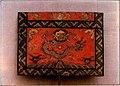 Kain penutup meja sembahyang (altar) dengan hiasan Liong.jpg