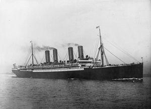Sinking of SS Kaiser Wilhelm der Grosse - Kaiser Wilhelm der Grosse