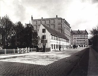 Randersgade - The southern part of Randersgade in 1899, looking south