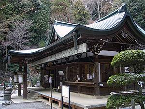 Kami-Daigo in Kyoto, Japan