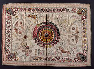 Culture of Bengal - Kantha, a Bengali cotton textile